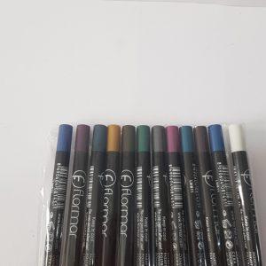 مداد فلور مار شمعی رنگی پگ ۱۲ عددی پوکه مشکی کدم۴۴