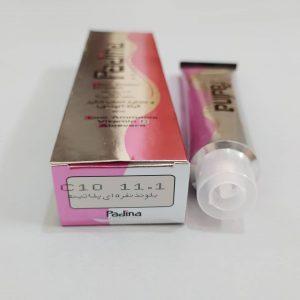 رنگ مو پادینا(بلوند نقره ای پلاتینه) C10  11.1
