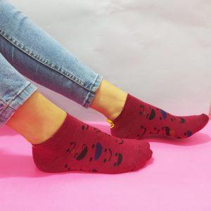 جوراب زنانه نیم ساق کد۱۷۰۱
