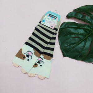 جوراب زنانه راه راه کد۲۲۲۵