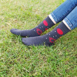 جوراب زنانه ساقدار خورشیدی کد۱۲۶