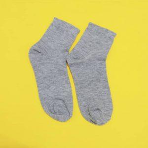 جوراب زنانه ساده نیم ساق کد۱۴۱۰