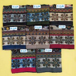 روسری حریر دس دوز کد8473